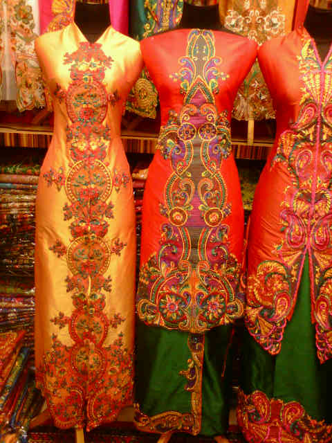 Model Baju Gamis Bordiran New Style For 2016 2017