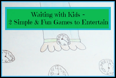 waiting games with kids