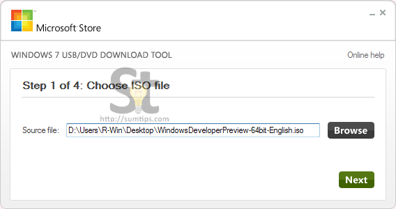 Create Windows 8 Bootable USB Flash Drive