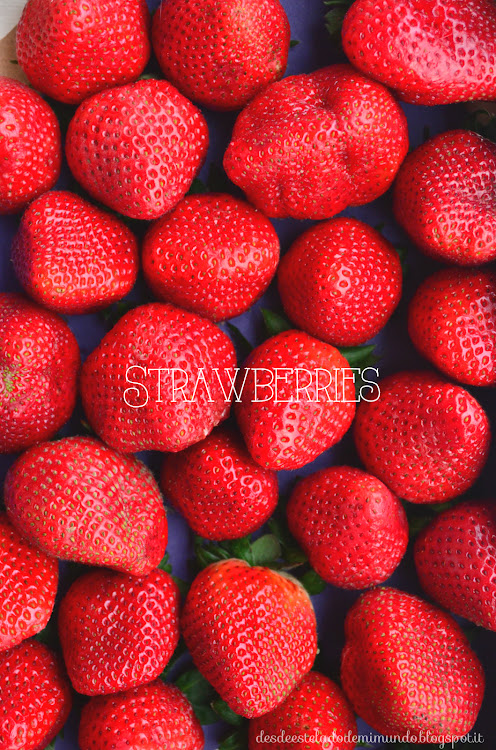 strawberries desdeesteladodemimundo.blogspot.it