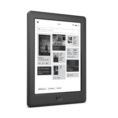 Conheça os E-readers - Kobo Glo