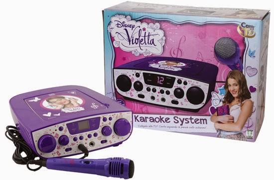 Canta Tu Violetta il Karaoke per il Natale 2014 di Giochi Preziosi