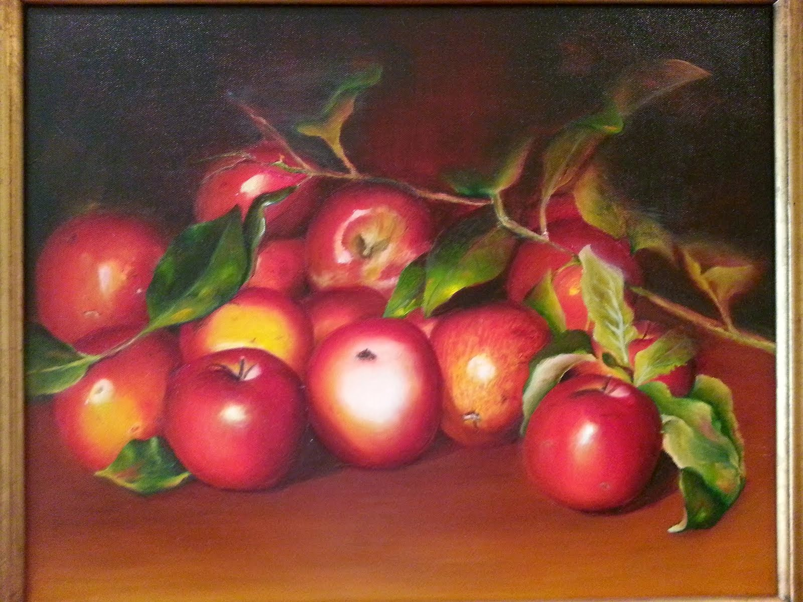 Simply Apples in Oils