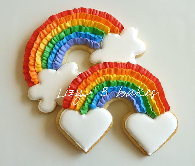 Lizy B: Rainbow Ruffle Cookies!