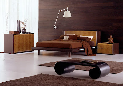 Bedroom Decoration Style Modern Bed Furniture