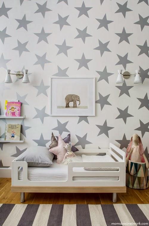 kids room - stars