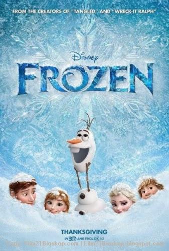 Film Frozen 2013 di Bioskop