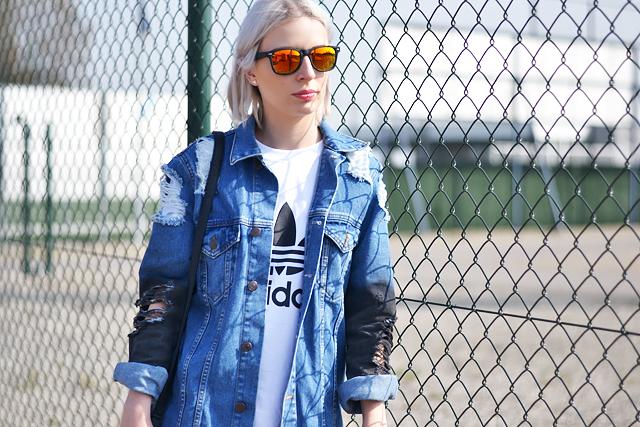 Mirror sunglasses, adidas, logo ,tshirt, belgian blogger, mode blogger, trends, zomer, summer 2015
