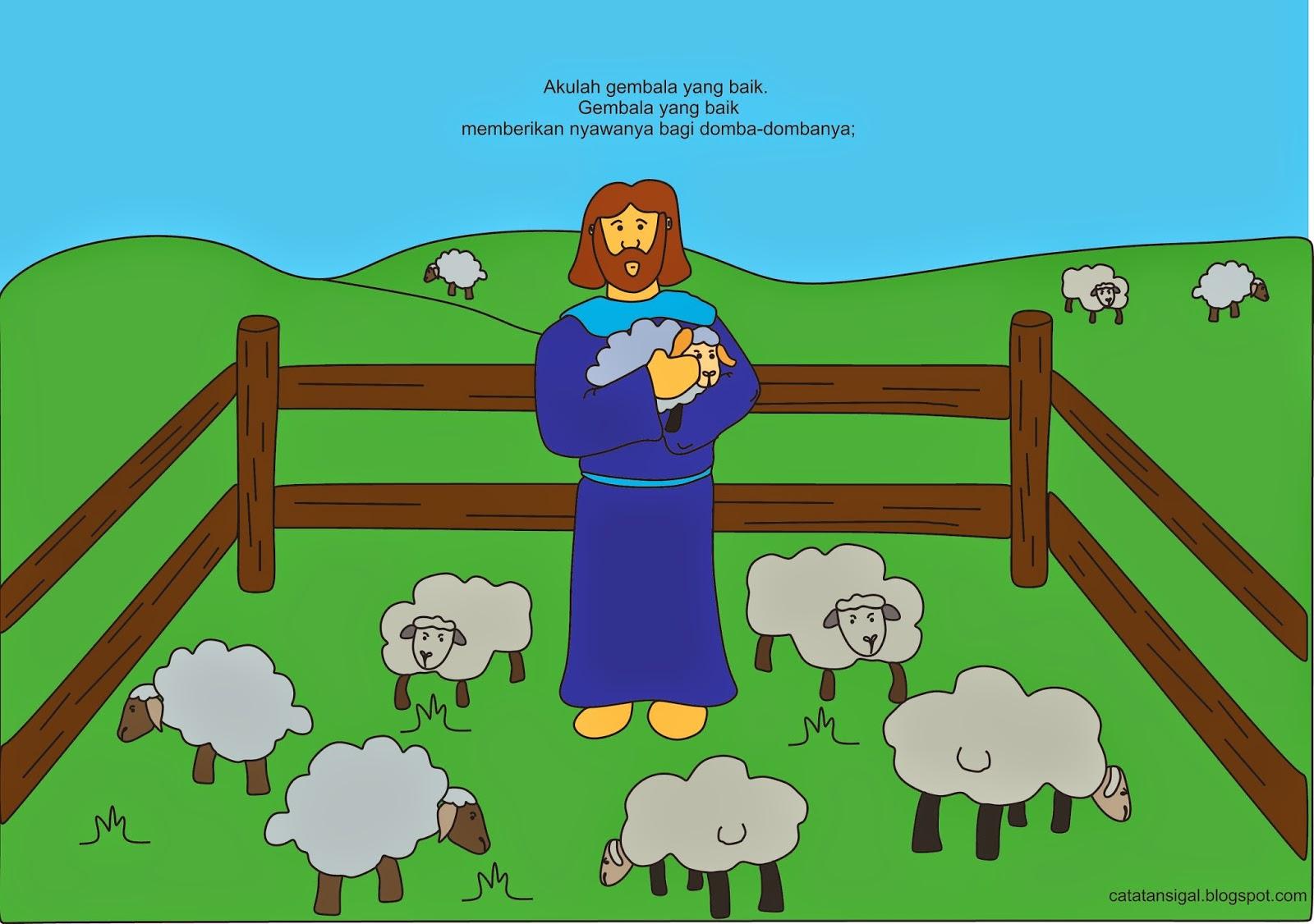 Gambar Kartun Penggembala Domba Bestkartun