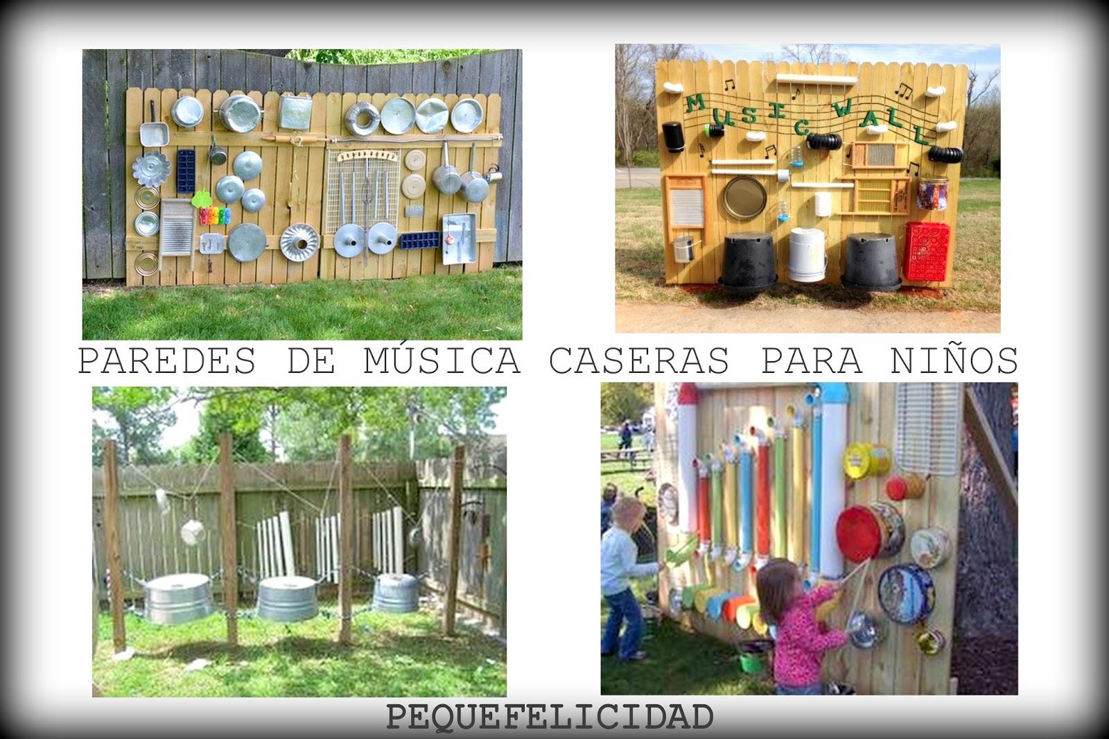 Pequefelicidad 25 ideas musicales para regalar a los - Paredes para ninos ...