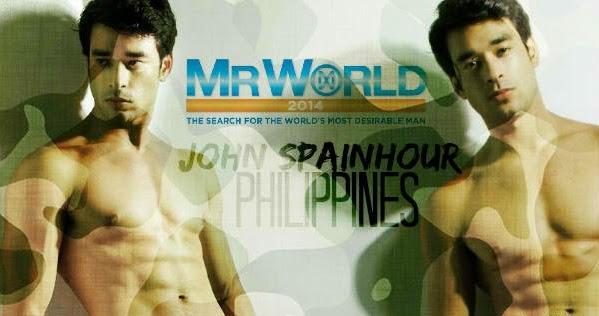 John Spainhour - Mr. World Philippines.