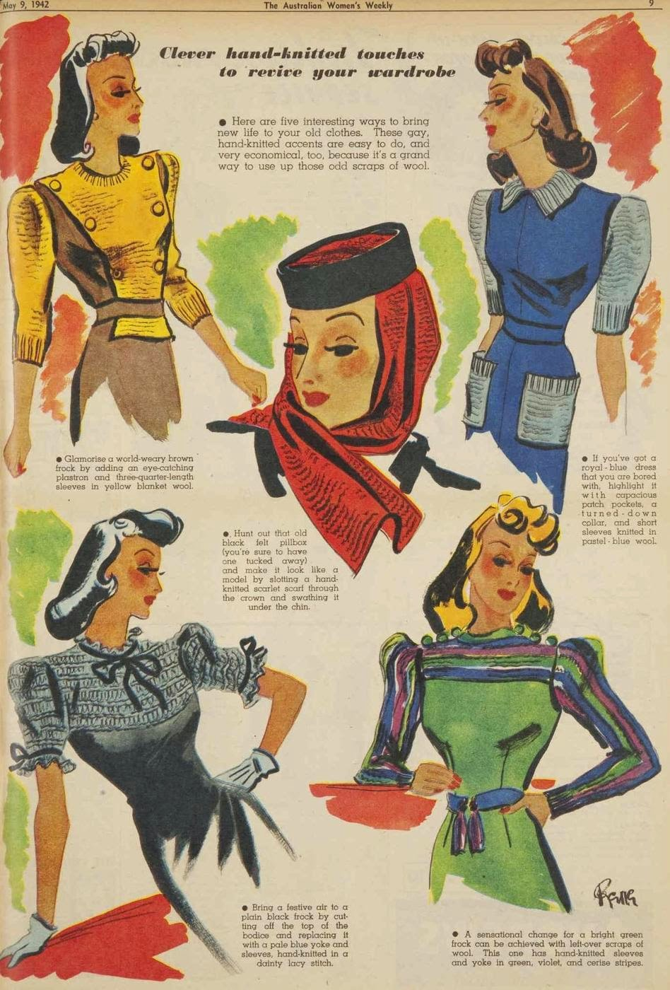 vintage 1940s fashion tips
