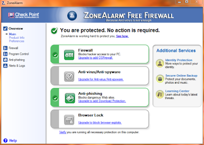 ZoneAlarm Free Firewall Version 11 Free Download
