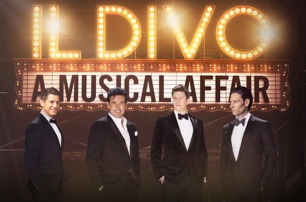 A musical affair il divo live in manila 2014 manila - El divo hallelujah ...