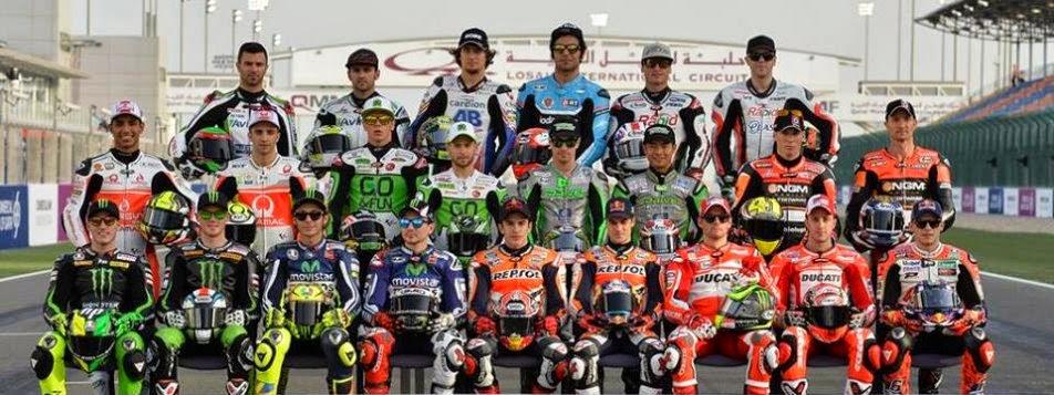 Daftar Nama Pembalap MotoGP 2015