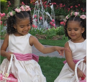 black girl long hairstyles : Dewi Image: Wedding Flower Girl Hairstyles