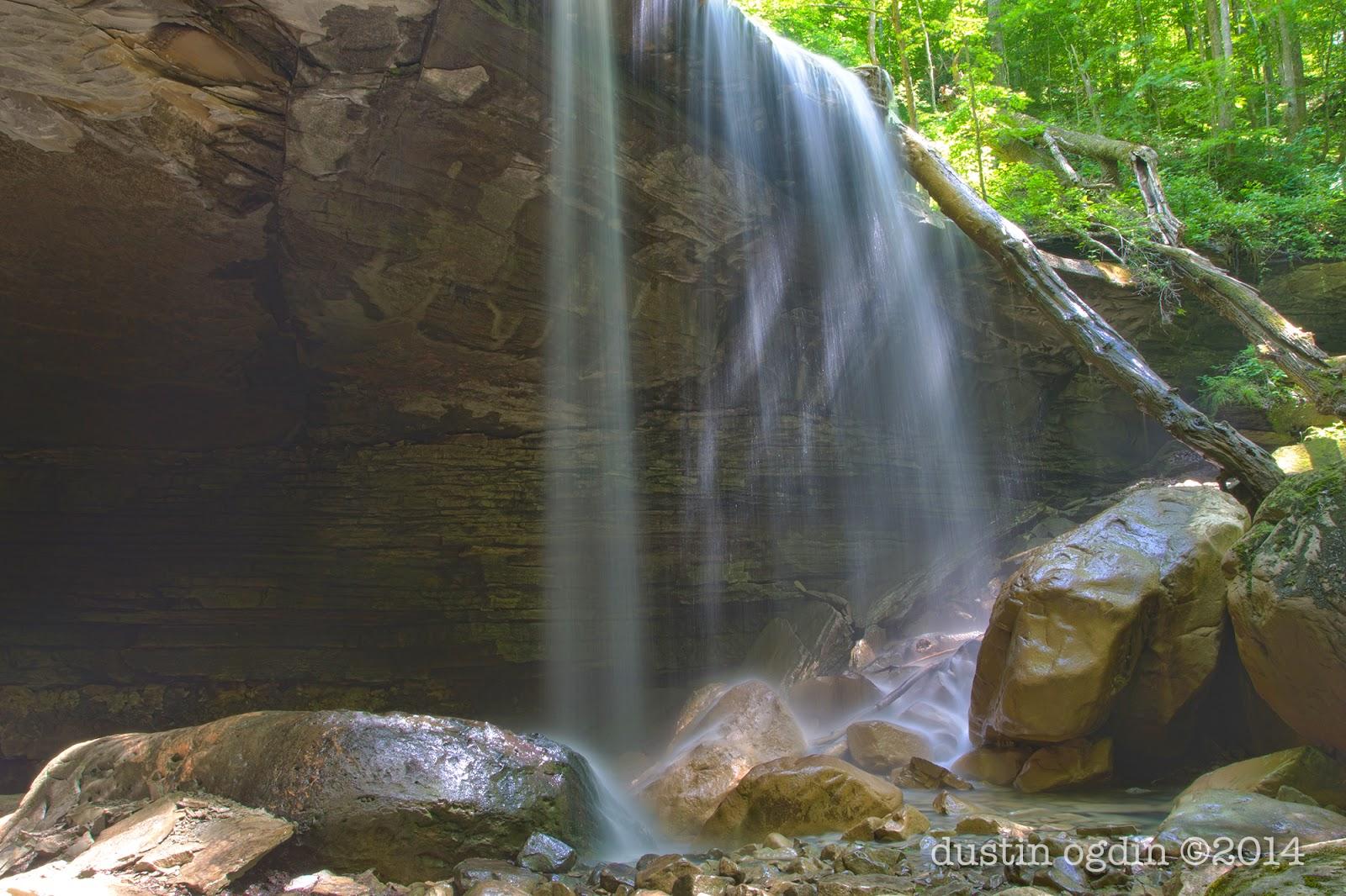 Virgin Falls State Natural Area, Big Laurel Falls
