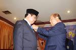Pena Mas Untuk Gubernur Jambi H Hasan Basri Agus (HBA) dari PWI