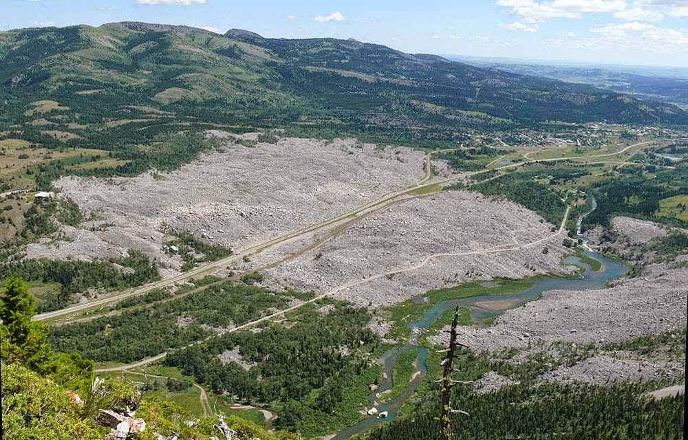 Frank Slide Remains