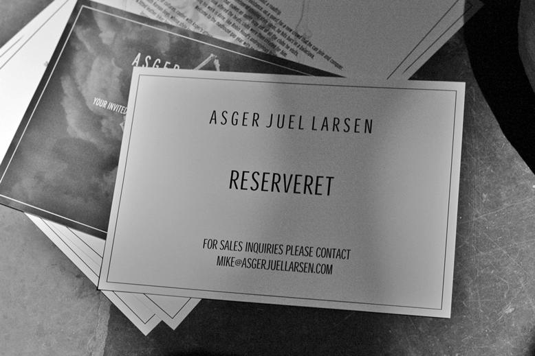asger juel larsen press contact, invitation for asger juel larsen, show asger juel larsen