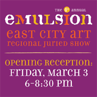 Emulsion opens at Pepco Edison Gallery in Chinatown on Friday, March 3