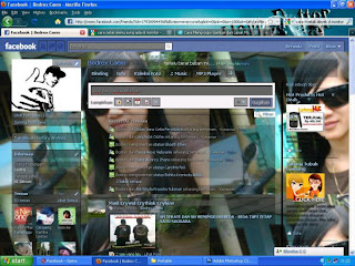 Cara Merubah Background Facebook