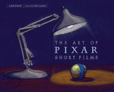 Book cover showing a luxo lamp and a toy ball.