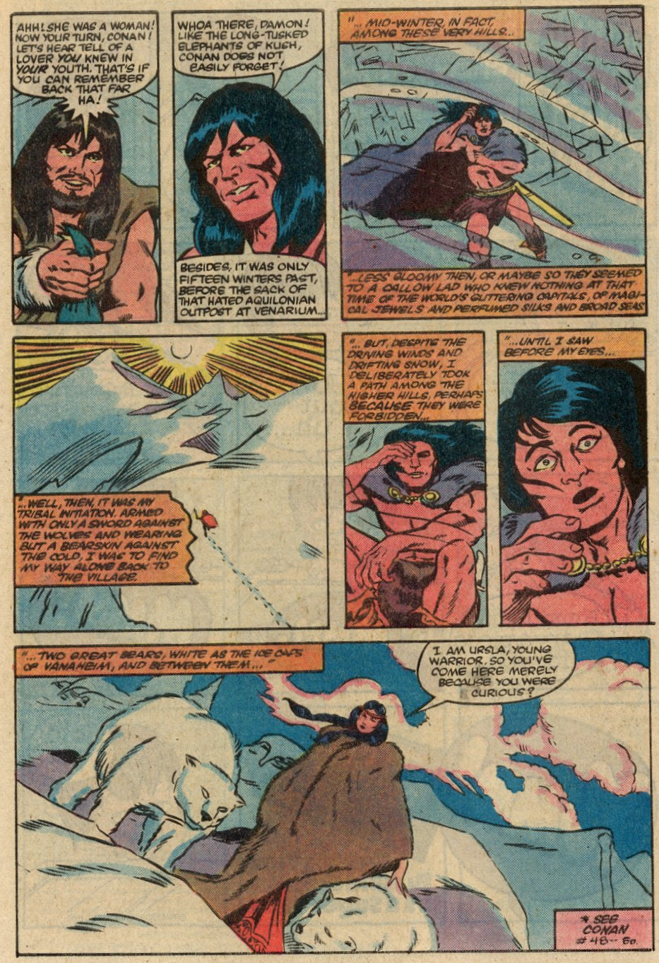 Conan the Barbarian (1970) Issue #145 #157 - English 5