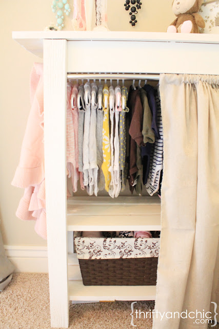 moveable baby closet