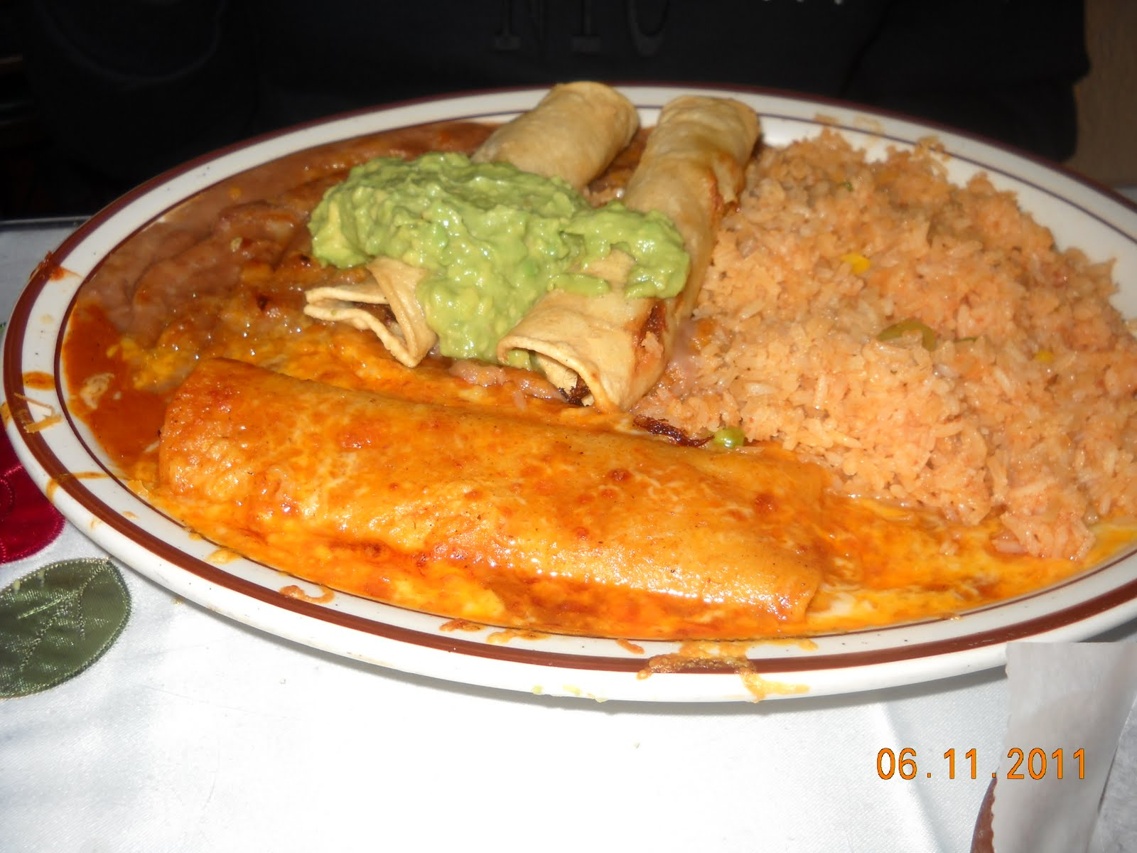 My Dad's Seafood Enchiladas Recipe — Dishmaps