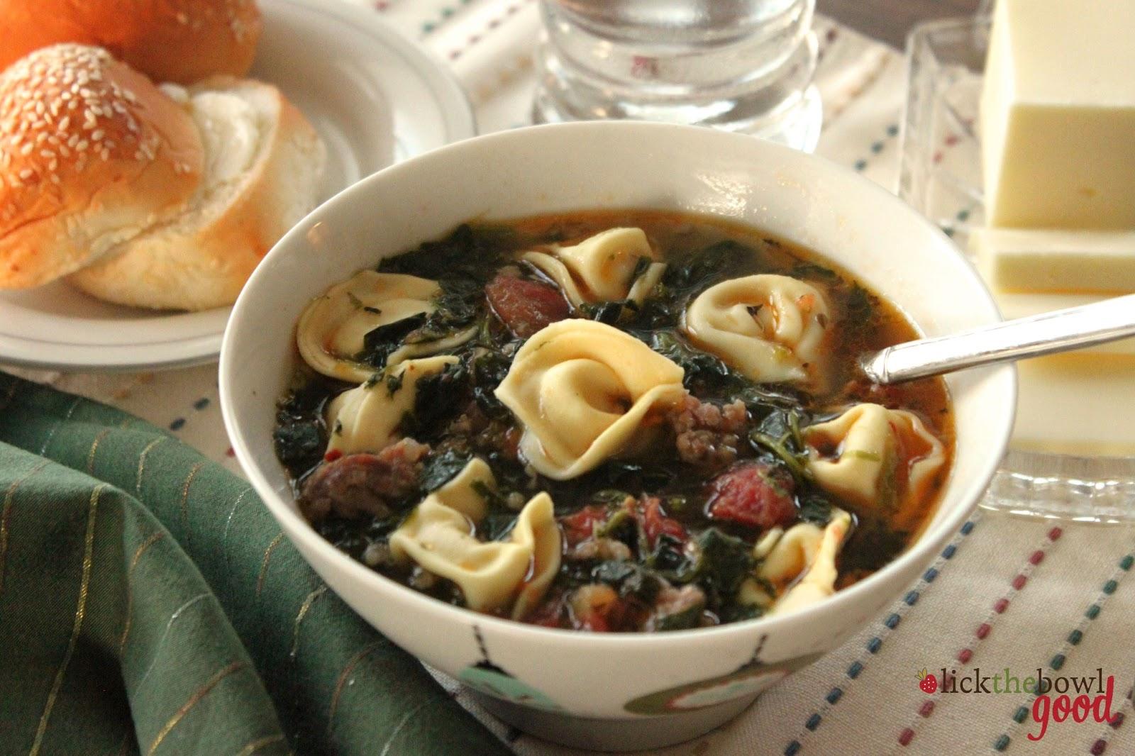chicken sausage ravioli soup sausage tortellini soup italian sausage ...