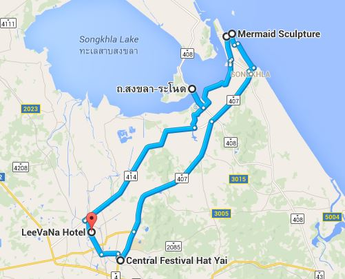Day 3 Hat Yai Songkhla Southern Thailand Road Trip