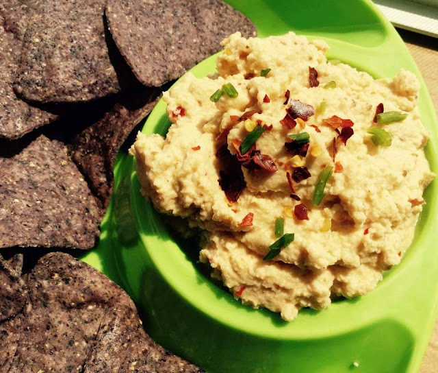 Vegan Hummus made from Almond PulpCondiments