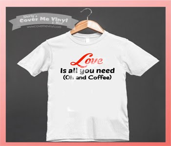 Love is all you need & Coffee Shirt