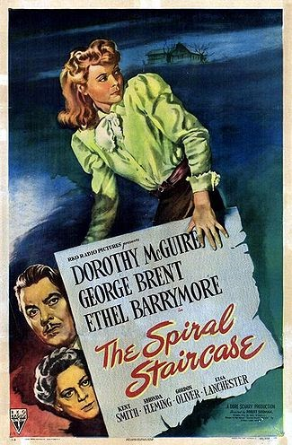 The Spiral Staircase (1946) Dorothy McGuire, Ethel Barrymore, George Brent