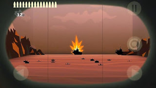 Screenshots of the Real sea battle for Android tablet, phone.