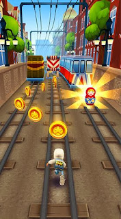 Screenshots of the Subway surfers: World tour Moscow for Android tablet, phone.