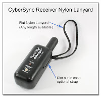 PJ1099: CyberSync Receiver Nylon Lanyard (Custom Length)