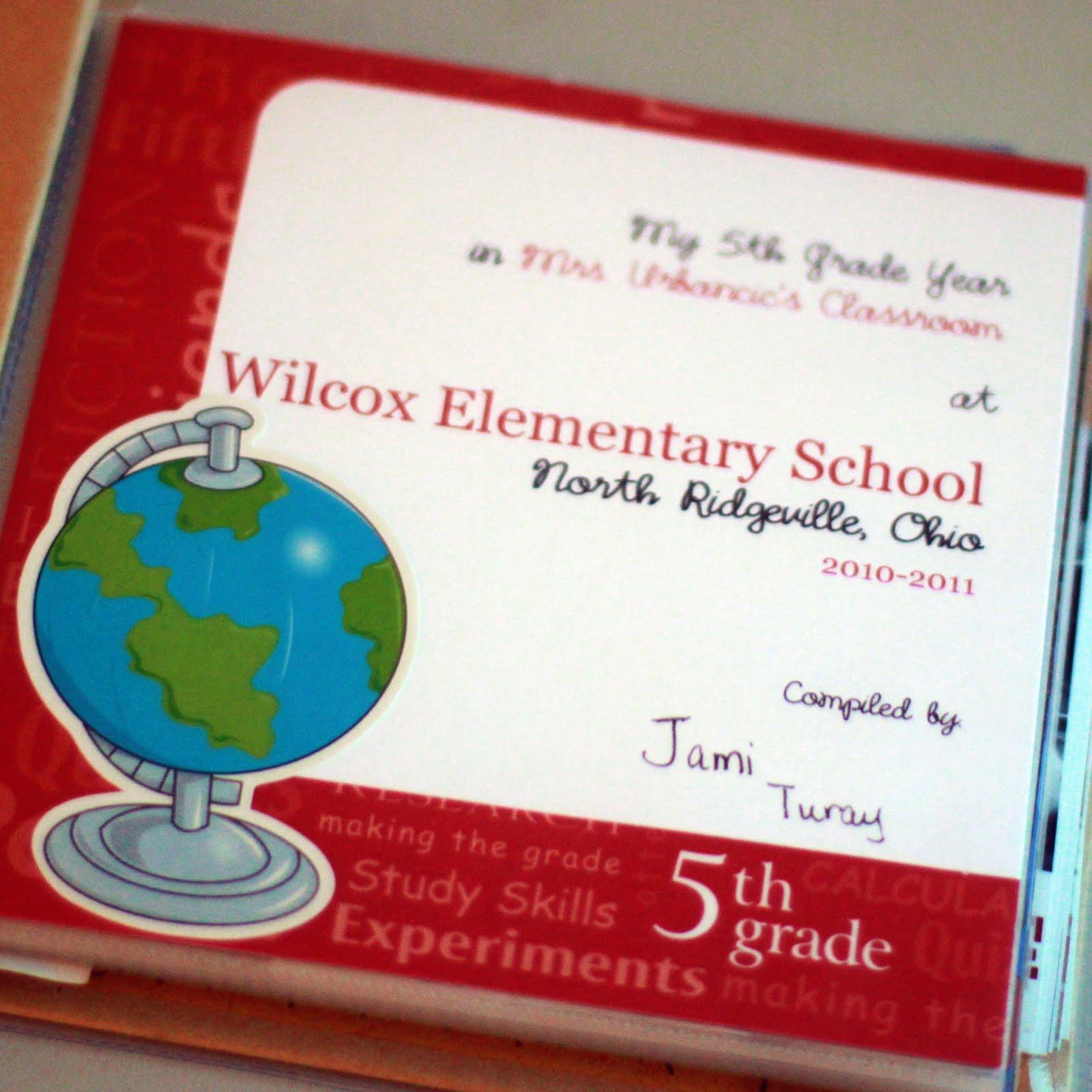 How to scrapbook school years - Year End Scrapbook