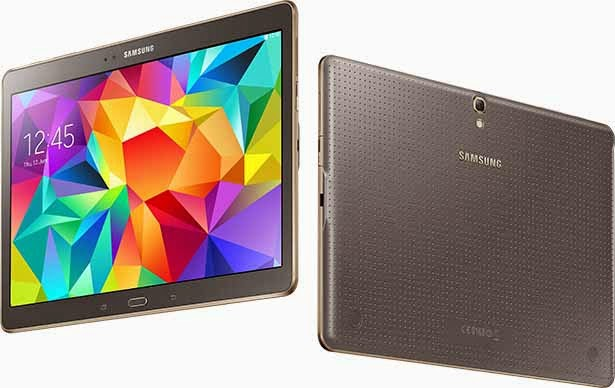 Galaxy Tab S with Super AMOLED Display