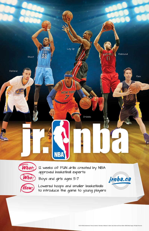 Register for Spring Jr NBA Program