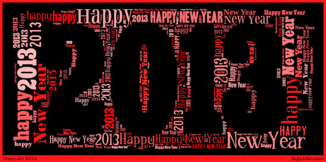 2013 Tagxedo - Happy New Year