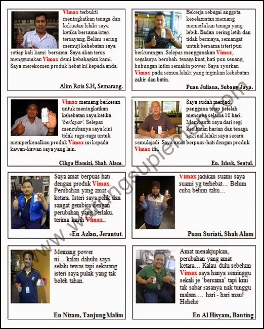 Bukti dan Testimoni  Vimax ASLI Pembesar Alat Vital Aman Dan Alami