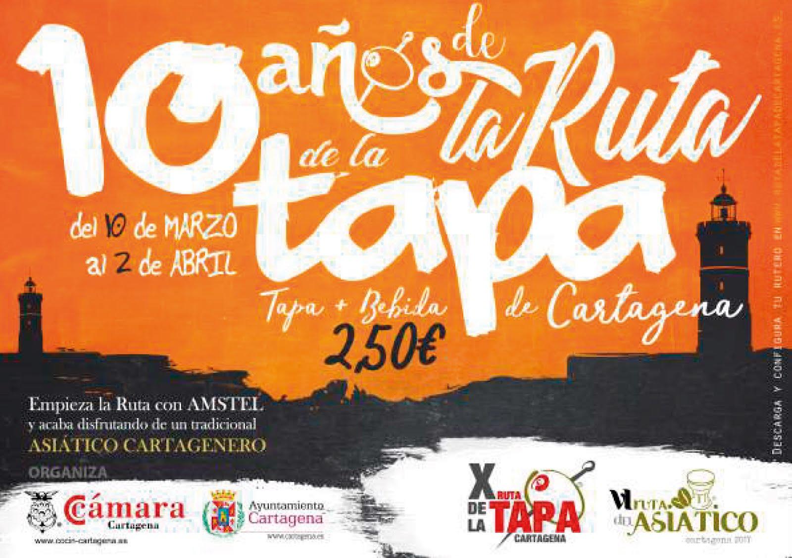 10 años de la Ruta de la Tapa de Cartagena