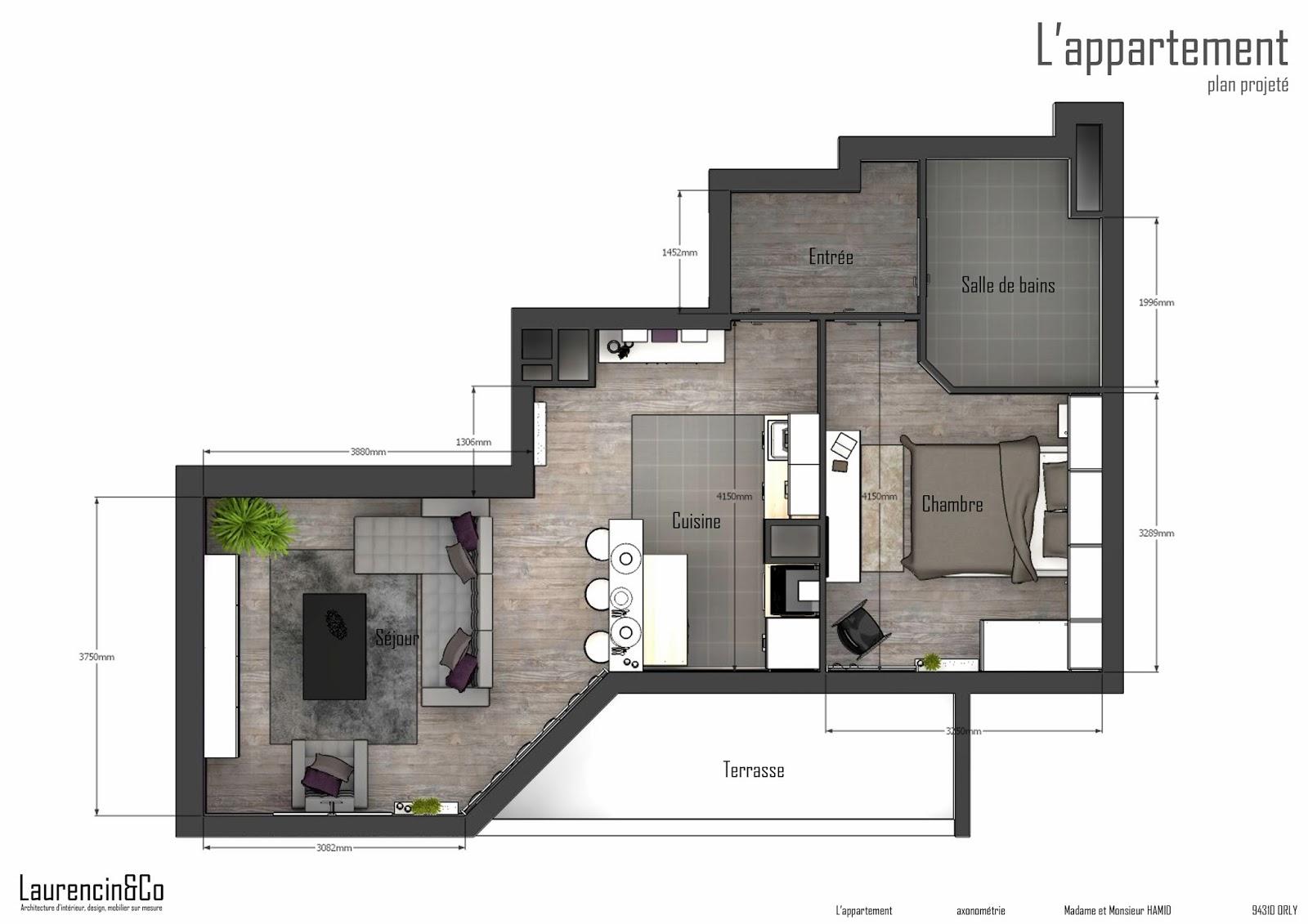 Am Nagement Complet D 39 Un Appartement Neuf Laurencin Co