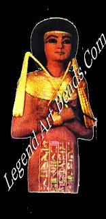 Serving girl tomb of Tutankhamen Egyptians