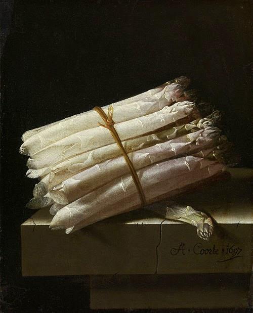 Adriaen Coorte - Asperges,1697.