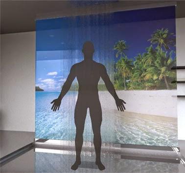 Душевая система Portal с экраном
