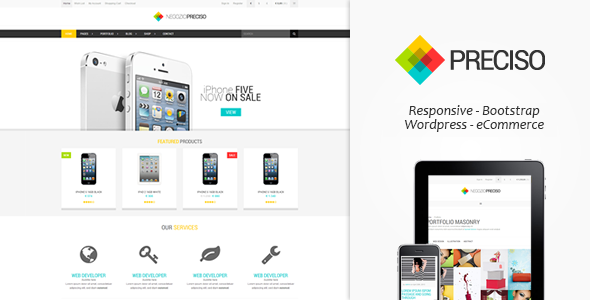 download responsive eCommerce template