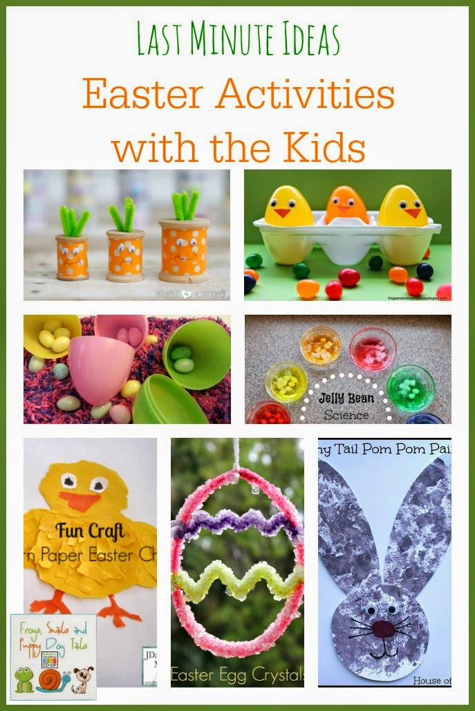 Last Minute Ideas  Easter Activities with the Kids